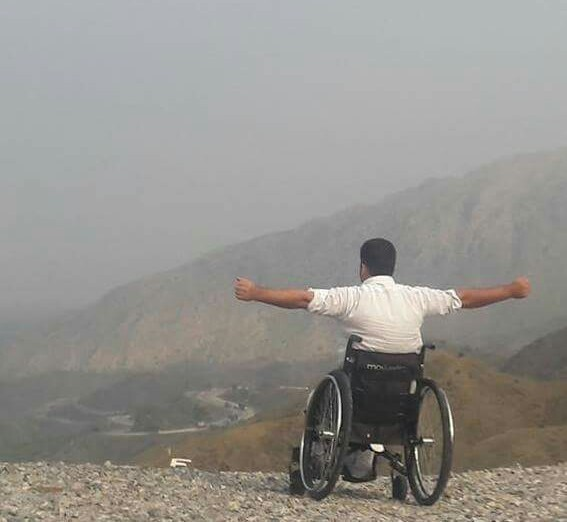 Wheelchair, a symbol of strength not weakness!