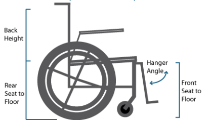 wheelchair measurement