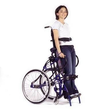 Standing wheelchair manual