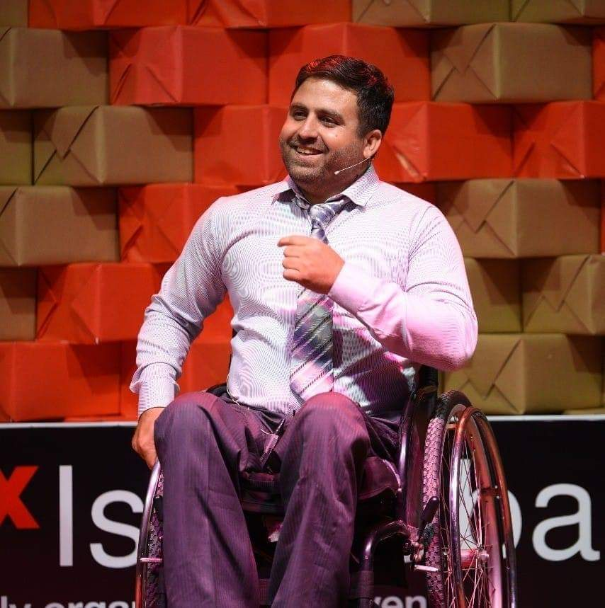 Irfanullah,a paraplegic, turns adversity into an opportunity