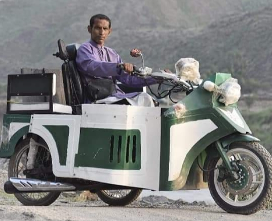 Story of Mr Asif Anis, maker of the first wheelchair accessible bike of Pakistan.